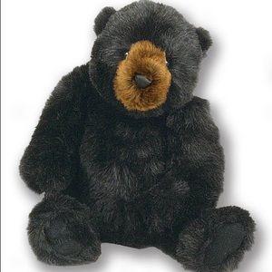 "Ditz Designs 21"" jointed black bear"